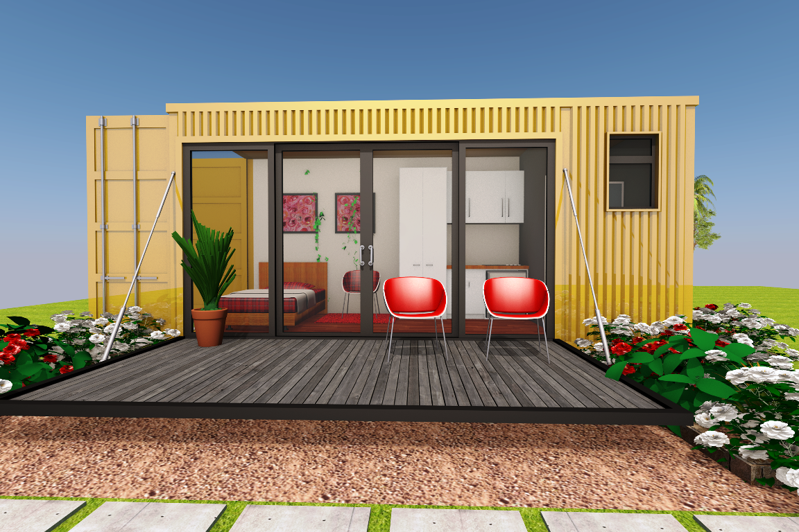 save-money-building-container-house