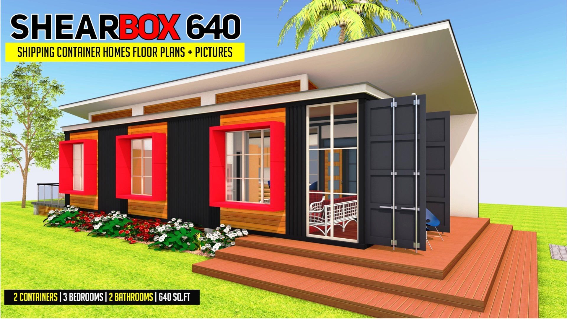 SHEARBOX 640 | Shipping Container Homes Plans