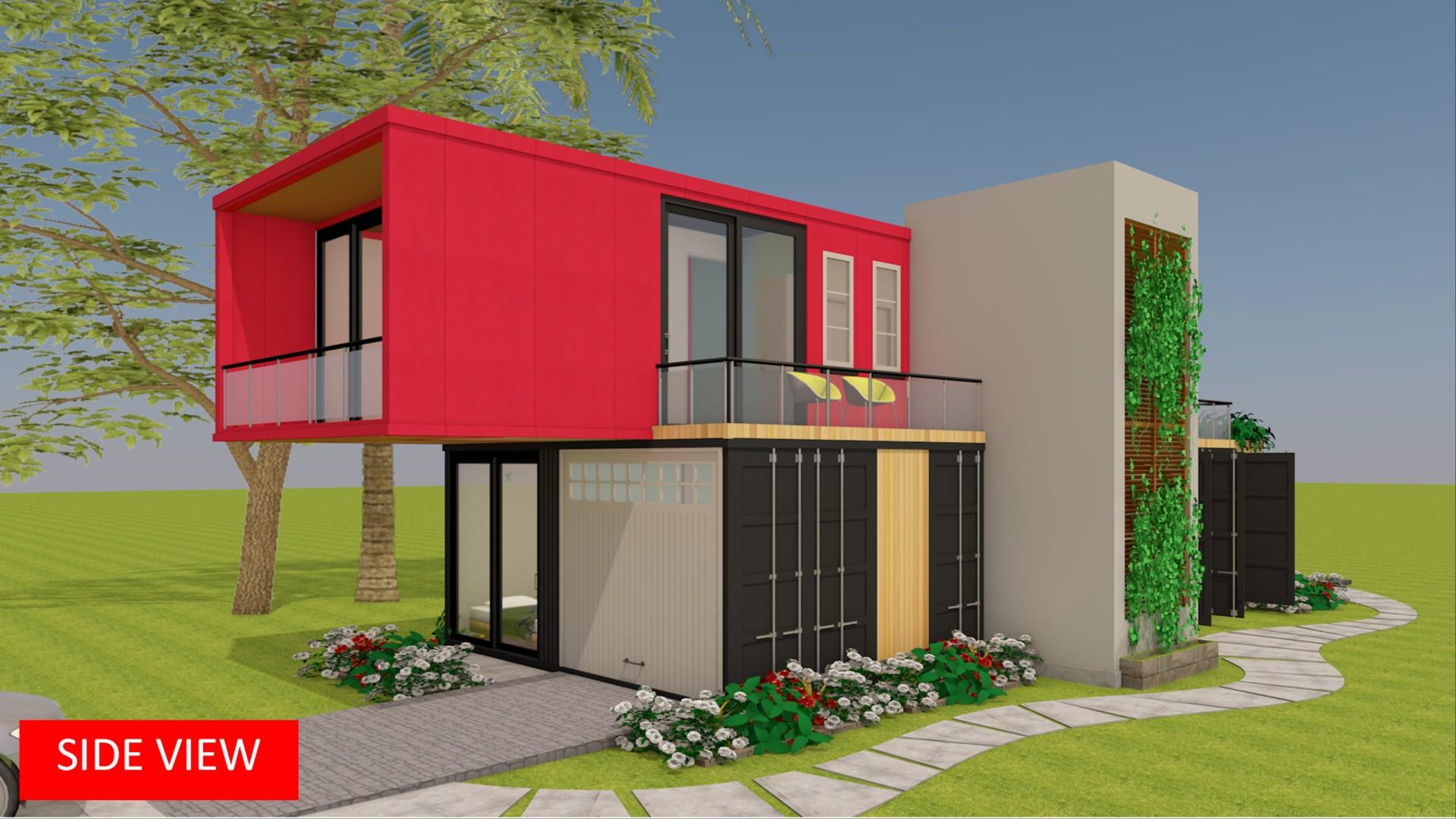 Modular Shipping Container Prefab Design + Floor Plans | MODBOX 1300