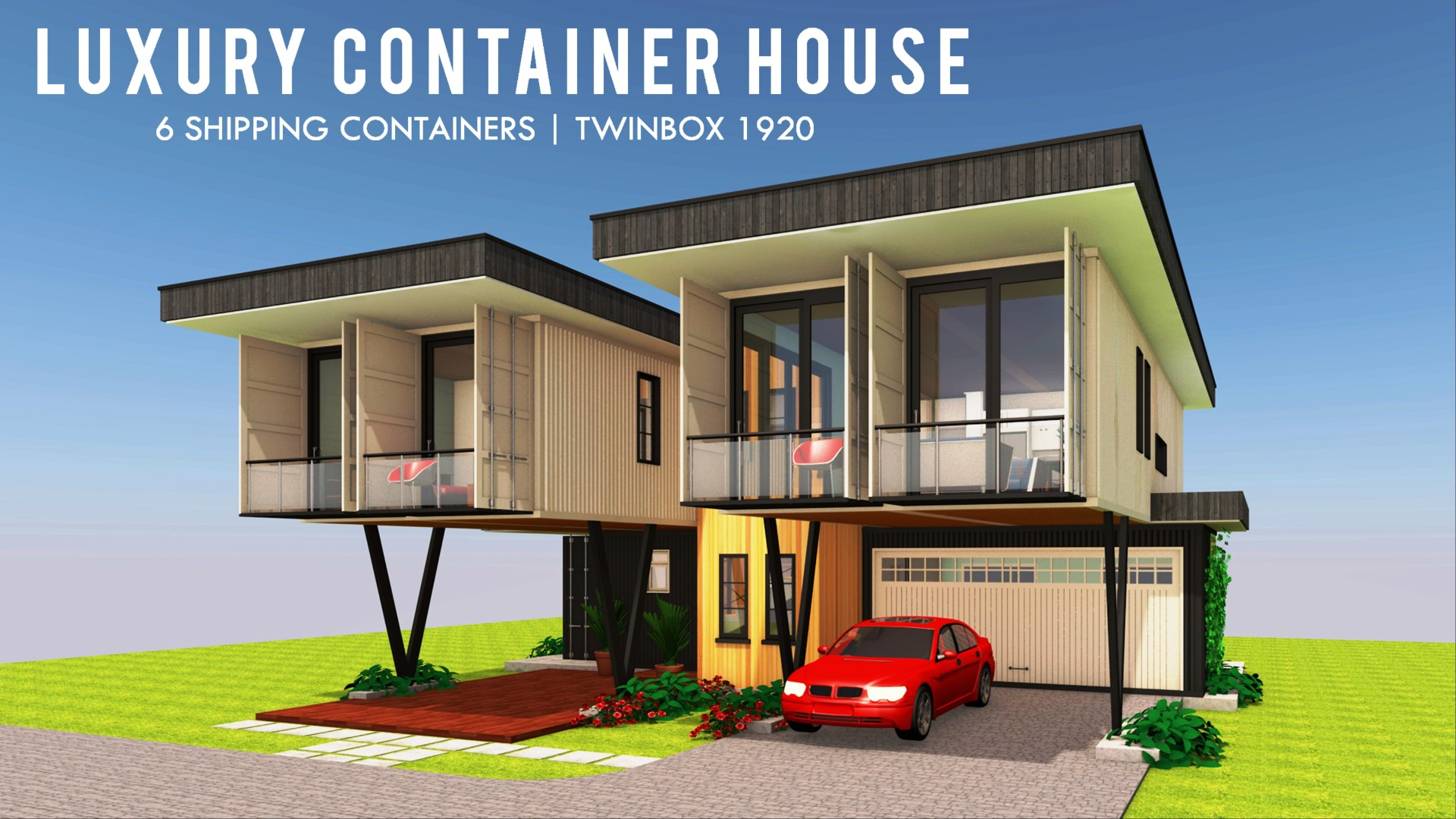 Container House Design Floor Plans