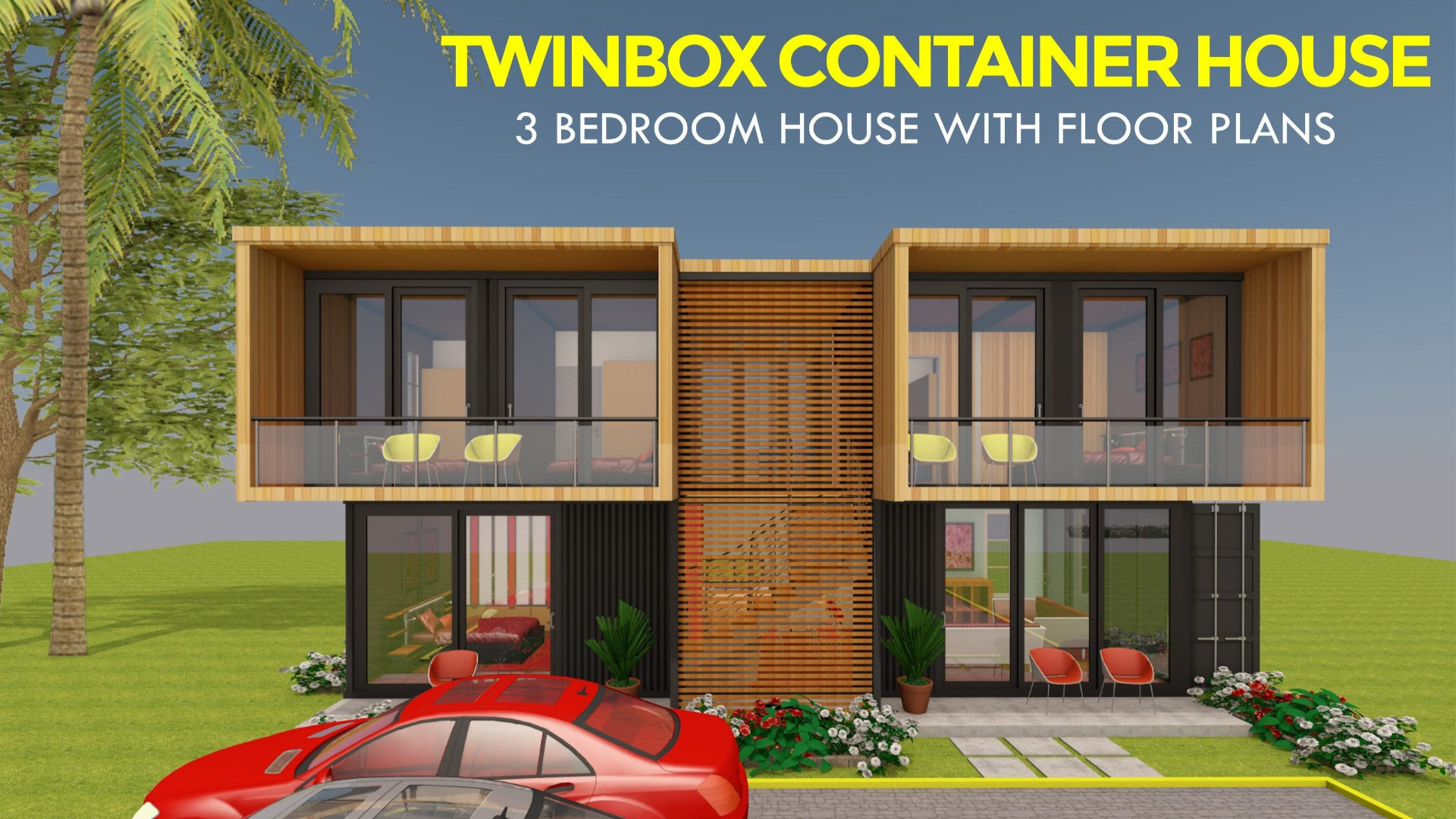 3 Bedroom Prefab Shipping Container Home Design Twinbox 1280
