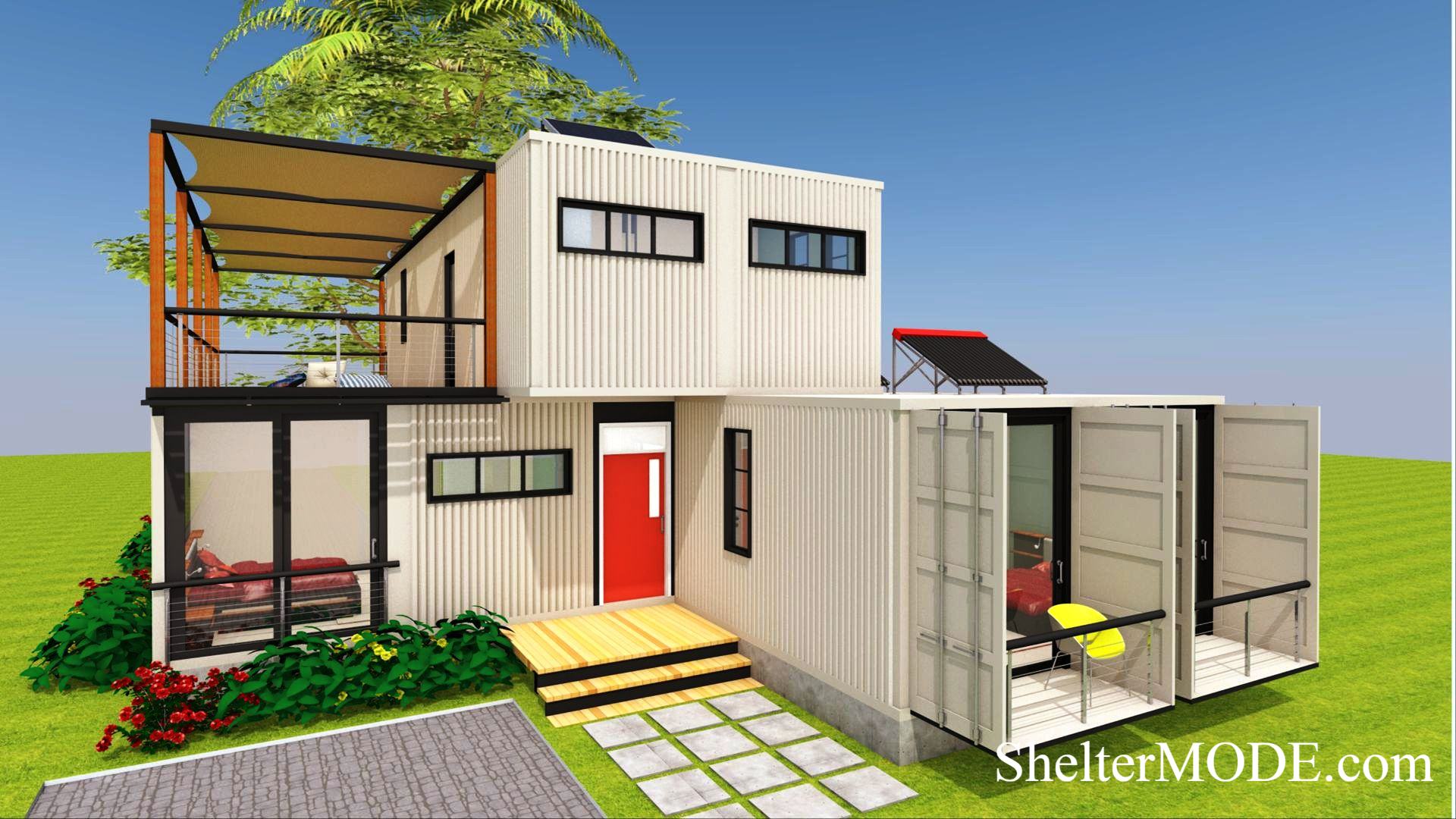 SHELTERMODE | LUXURY CONTAINER HOME DESIGN