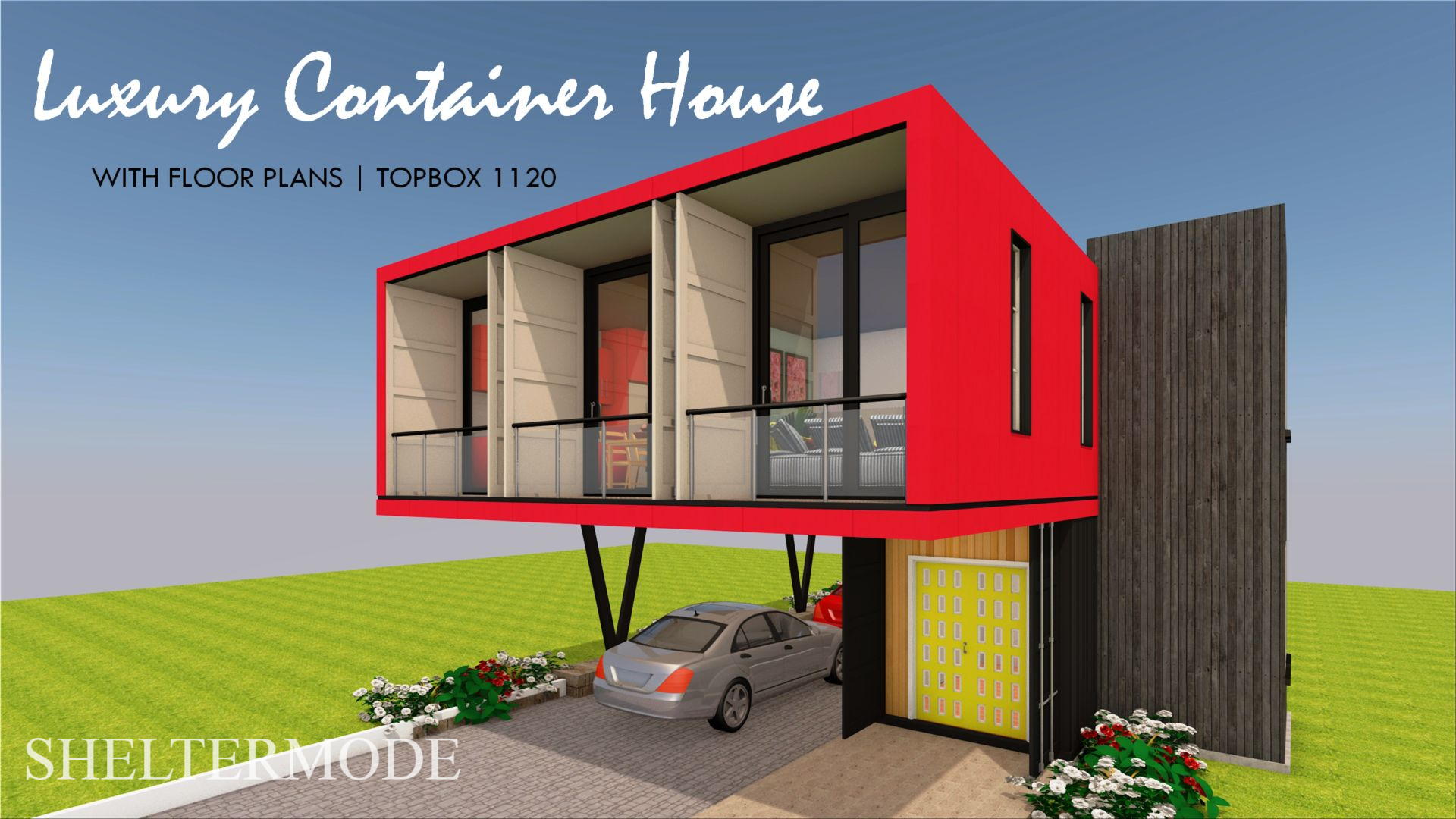 Shipping Container 3 Bedroom House