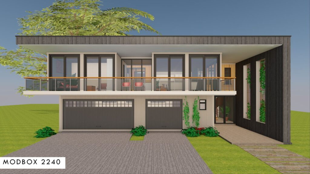 Modern Shipping Container 4 Bedroom House Design Floor Plan